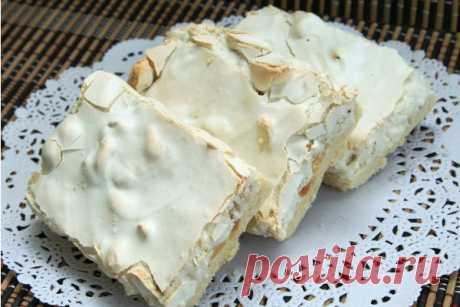 Варшавское пирожное с грецким орехом Читать далее...