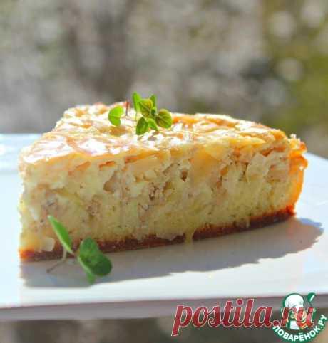 Пирог с курицей и капустой Кулинарный рецепт
