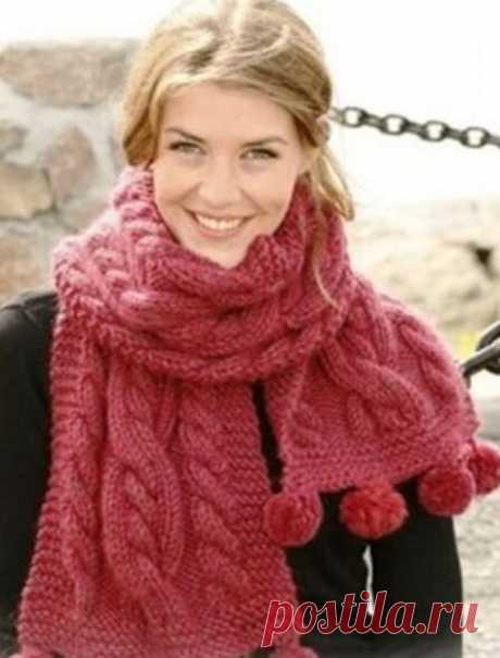 Три красивых шарфа с подробным описанием! | Вяжем, лепим, творим, малюем) | Яндекс Дзен
