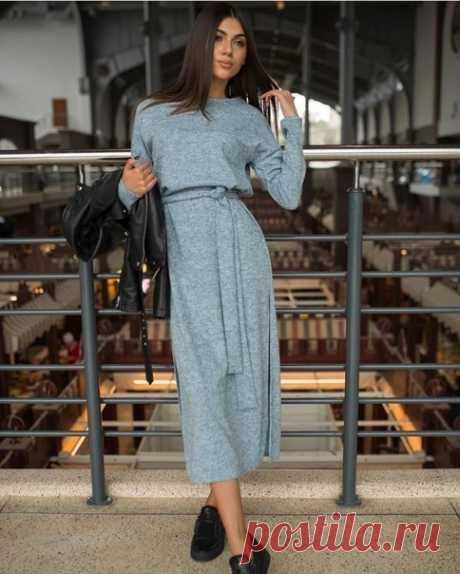Трикотажное платье Размеры: 34-44eur. #Вж_платье4@kopilka_vikroek
