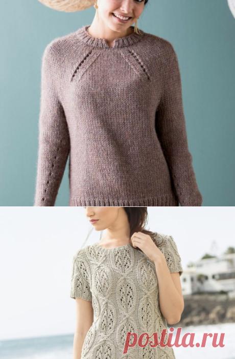 30 модных схем Свитеров и пуловеров