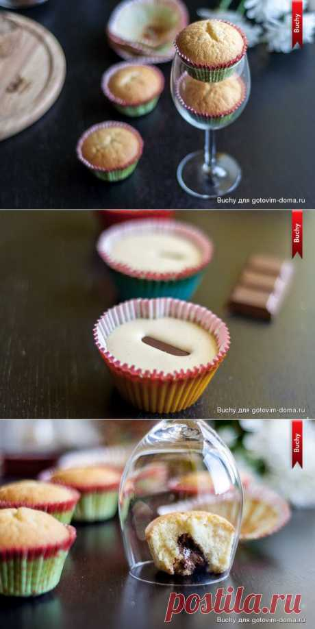 Сливочные пирожные с шоколадом   Четыре вкуса