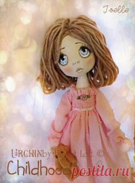 OOAK cloth art doll