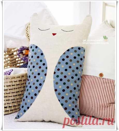 Подушка-сплюшка (Шитье и крой) | Журнал Вдохновение Рукодельницы