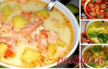 ТОП — 10 самых вкусных супов С этими супами обед будет полноценным, полезным и вкусным!
