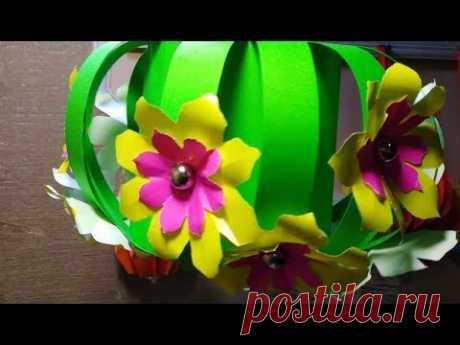 Оригами Красивые Цветы Из Бумаги Для Открыток. Как Сделать Поделки Цветы из бумаги Своими Руками