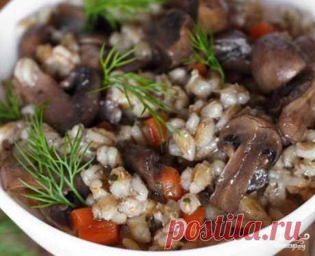 Каша перловая постная - пошаговый рецепт с фото на Повар.ру