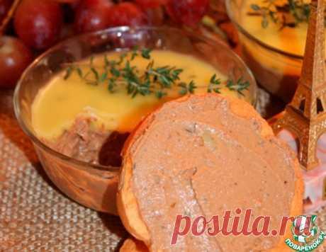 Паштет из куриной печени по-французски – кулинарный рецепт