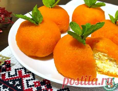 """Закуска """"Мандаринки"""" на праздничный стол – кулинарный рецепт"""