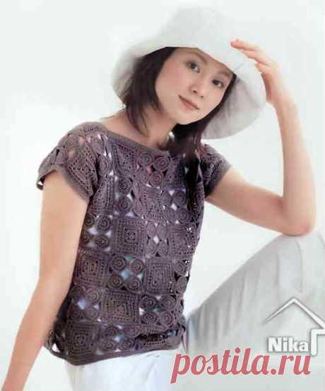 Вязаные летние кофточки для женщин - 5 моделей и схем