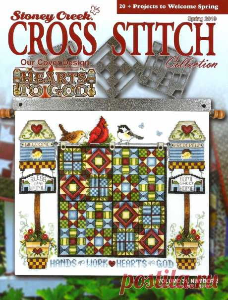 Stoney Creek. Cross Stitch Collection - Spring 2019.