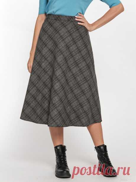 Расклешенная юбка в клетку от Gerry Weber Casual | Интернет-магазин Gut!