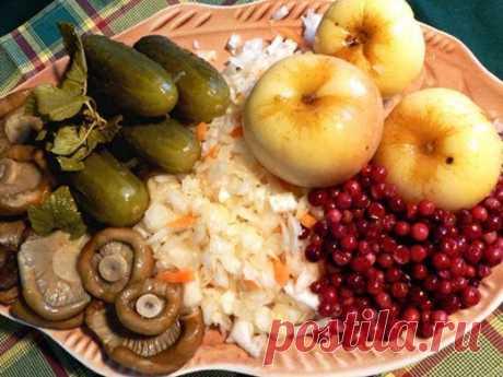 Рецепты постных блюд в Великий пост 2015