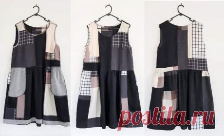 Модное летнее платье в лоскутном стиле - время сменить гардероб не выходя из дома - советы шитья от дизайнера из Австрали