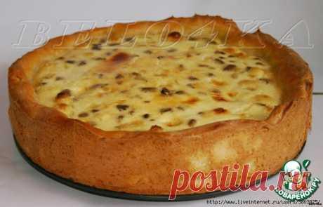 """Пирог сырно-грибной """"Нежный""""- это очень вкусно - ум отъешь ..."""