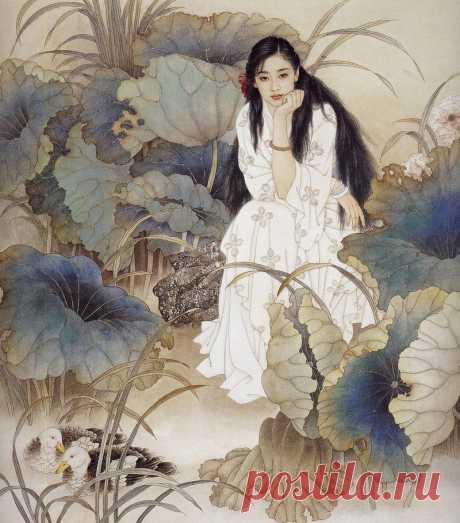 Художники Wang Meifang, Zhao Guojing