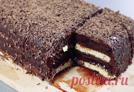Рецепт вкуснейшего трюфельного тортика за 15 минут без выпечки