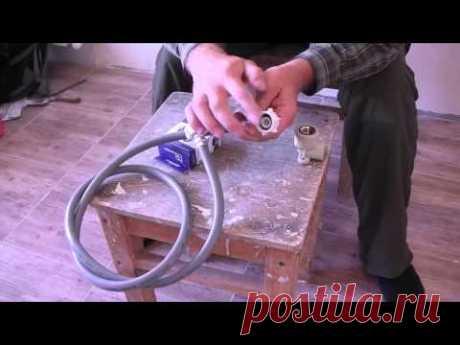 Подключение стиральной машины к водопроводу: схема
