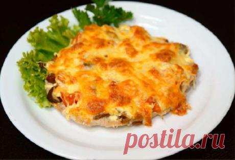 Мясо по-французски запеченное в фольге - сытный полноценный ужин | Вкусные рецепты | Яндекс Дзен