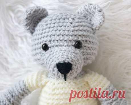 Leelee Knits » Blog Archive Crochet Teddy Bear - Free Pattern! - Leelee Knits