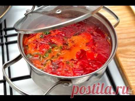 Борщ на КОСТОЧКЕ по-украински Ну, оОчень вкусный суп - Рецепт от украинца