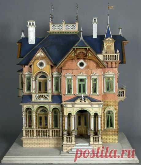 Винтажные кукольные домики   Изюминки
