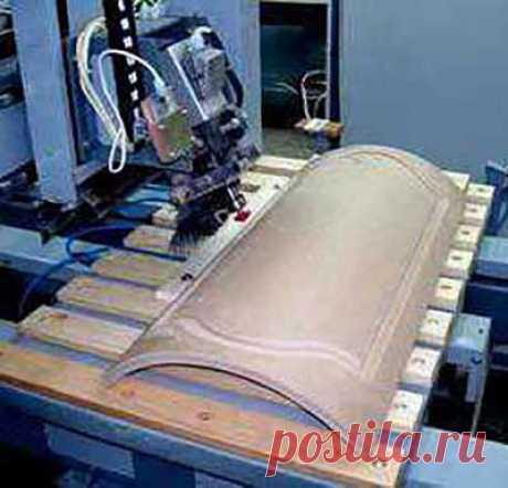Технологии создания гнутых форм из фанеры