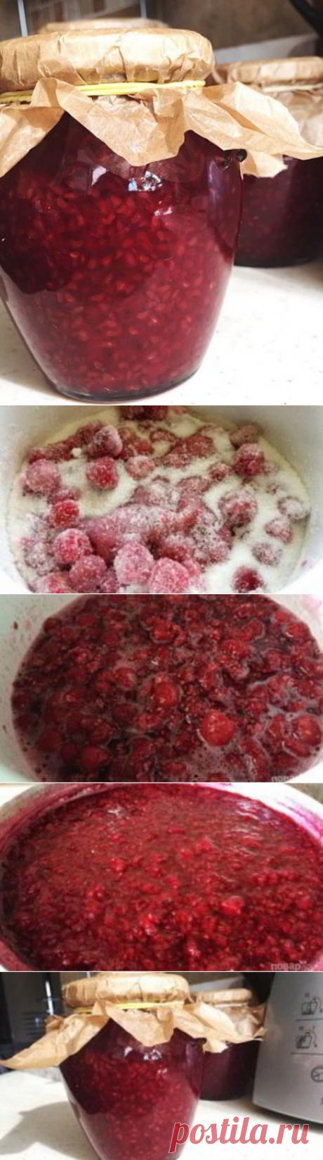 Варенье с малиной — Пошаговый Кулинарный Рецепт Приготовления Варенья с Фото