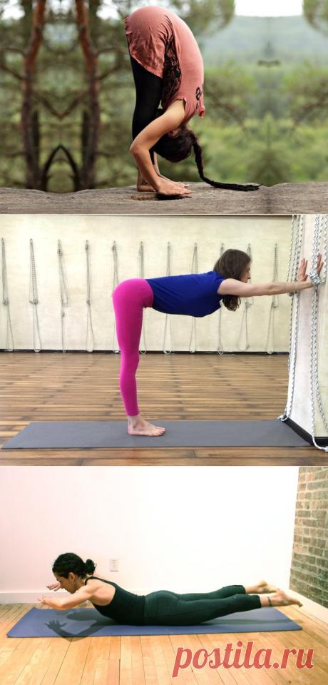 Йога для всех: 5 несложных упражнений, которые избавят от болей в спине