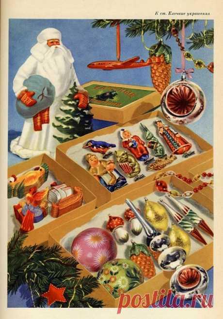 Снова ностальгическое: Новогодние ёлки советской поры