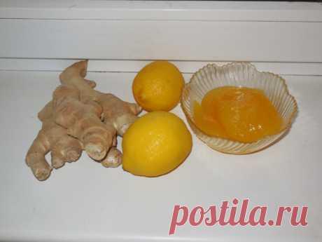 Смесь лимона, имбиря и меда от простуды - как приготовить имбирь с медом и лимоно, рецепт с фото пошагово