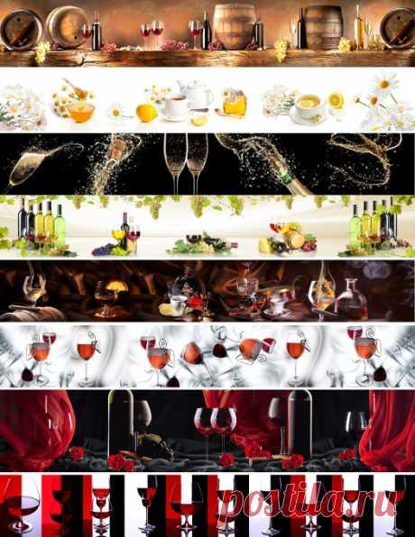 КАТАЛОГ Скинали напитки вино на кухонный фартук, на сайте www.skinali-plus.com