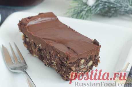 Рецепт: Шоколадный торт без выпечки на RussianFood.com