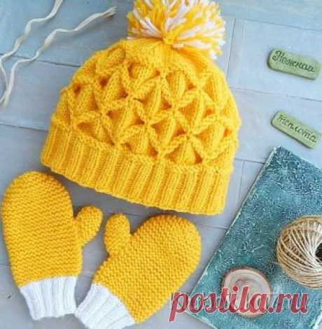 """Hat pattern """"Клоке"""" HOW to CONNECT the HAT by the PATTERN the SHRED It is not as difficult as it seems. Perhaps you knitted sometime gear edge?"""