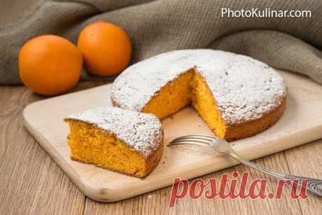 Простой морковный пирог с апельсиновым ароматом - cовершенная простота