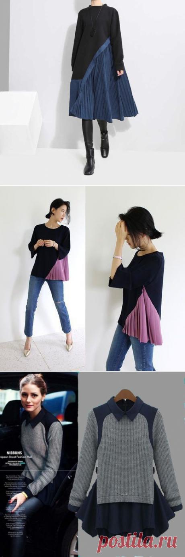 4 идеи переделки свитера