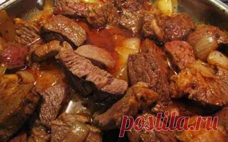Блюда из мяса.