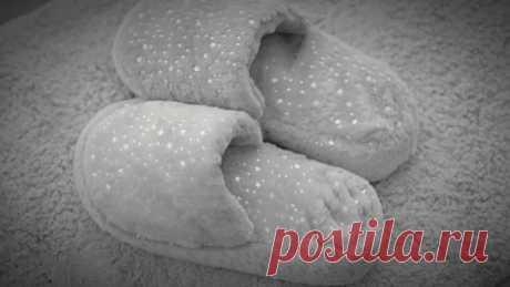Уютные, как мечта! Тёплые пушистые тапочки своими руками - Идеи для жизни - медиаплатформа МирТесен