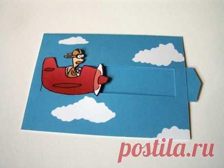 Card slider \/ Knitting as art!