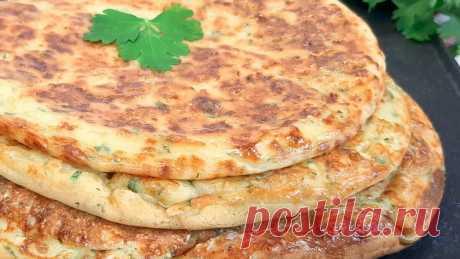 Вкусные лепешки на кефире с колбасой и сыром | Эффект попутчика | Яндекс Дзен