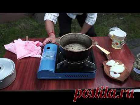 Лечебная мазь. Рецепт от тувинской шаманки.