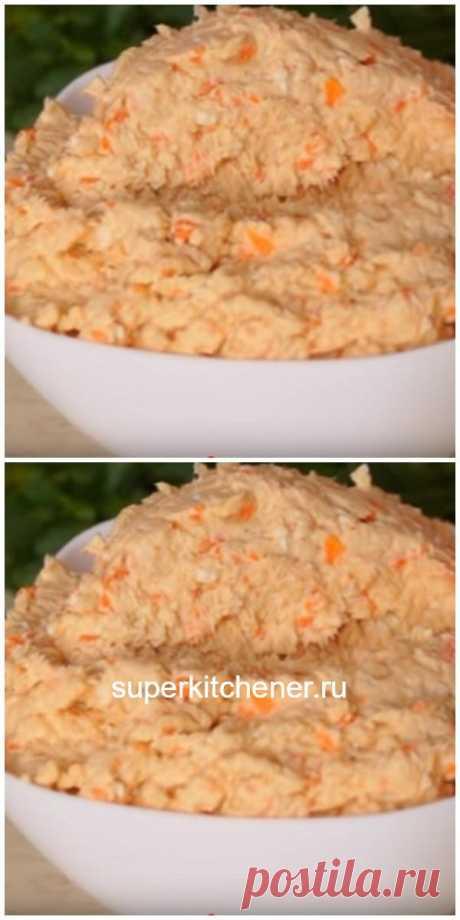 Паштет из куриного филе с плавленым сыром: забудьте о колбасе!