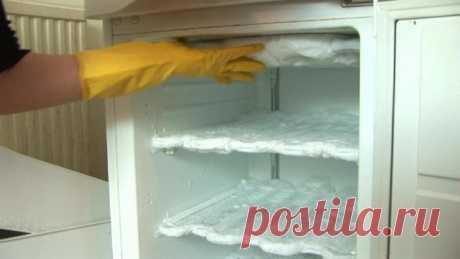 Правильная разморозка холодильника: пора взяться за это! — Полезные советы