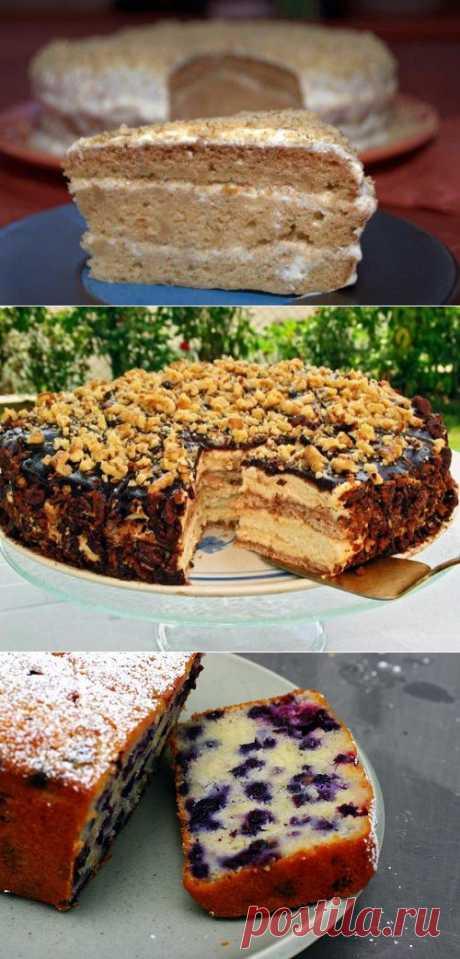 Сметанник: 4 варианта любимого торта / Простые рецепты