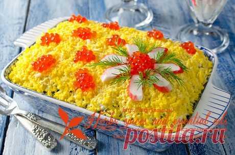 Вкусные и красивые салаты к любому празднику