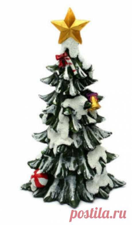 "Фигурка новогодняя ""Новогодняя елочка"" Декоративная новогодняя фигурка. Высота: 23 см."