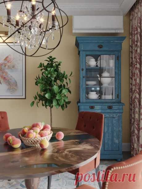 Проект кухни 15,2 кв.м Дизайнер — Шестова Юлия