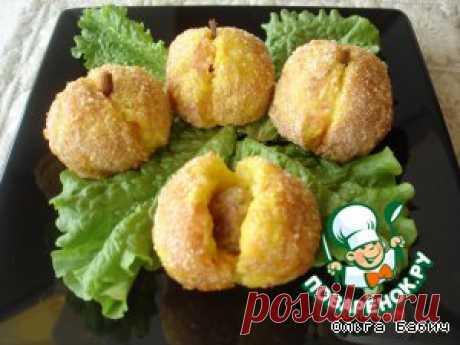 """Картофельные """"персики"""" - кулинарный рецепт"""