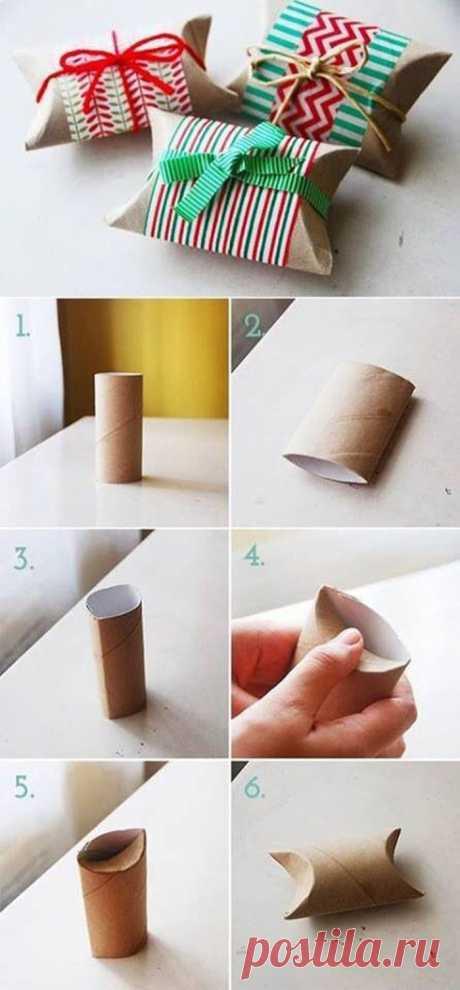 Оригинальное применение втулок от туалетной бумаги