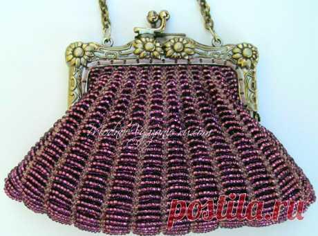 Шикарно - бисерная сумочка, мк